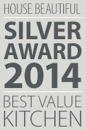 House Beautiful Silver Award 2014 Best Value Kitchen